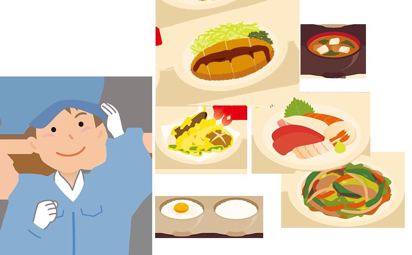 食品や水質検査の受付
